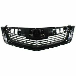 For 2009 2010 Acura Tsx Front Grille Black