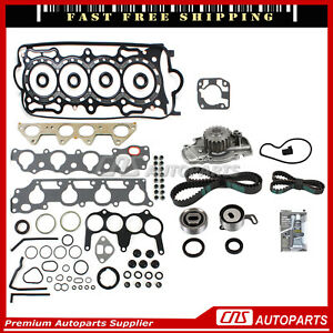 Head Gasket Set Timing Belt Kit Water Pump For 94 97 Accord Acura Cl 2 2l F22b1