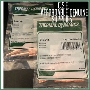 Thermal Dynamics 9 8215 Electrodes 2 Bags 10 Electrodes usa Supplier
