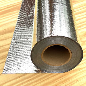Radiant Barrier Heavy Aluminum Breathable 1000 Sf Roll Foil Insulation