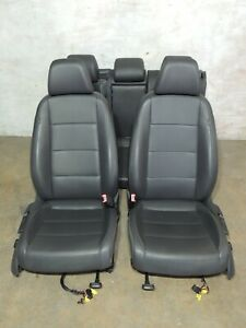 Mk5 Vw Jetta Leather Seats Heated Front Rear Bench Set Factory Oem 904
