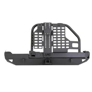 Xrc Rear Bumper W hitch Tire Carrier Fits 84 01 Cherokee Xj Black Smittybilt