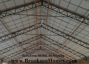 6 60 Steel Trusses For 60 X 50 Building 10 Centers For Pole Barn