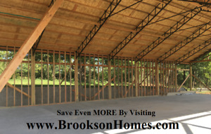 6 50 Steel Trusses For 50 X 50 Building 10 Centers For Pole Barn