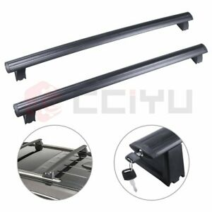 Black Roof Rack Aluminum 2x For 13 14 Jeep Grand Cherokee Cross Bar Us Stock