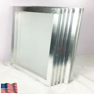 6 Pcs 20x24 Aluminum Frame Size With 120 White Mesh Silk Screen Printing Screen