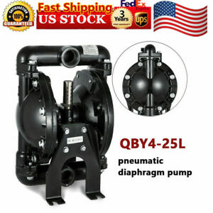35gpm Air operated Double Diaphragm Pump 1 Inlet Petroleum Fluid 1 2 Air Inlet