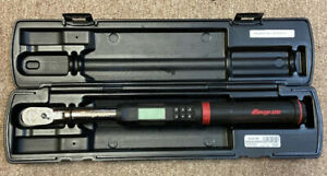 Snap on Drive Atech2fr100b techangle Electronic Torque Wrench W Case Nice