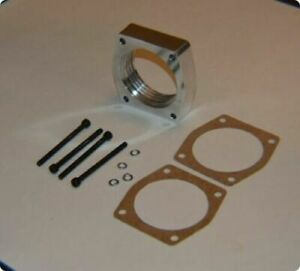 Throttle Body Spacer Helix Ford Mustang F 150 3 5l Ecoboost 3 7l Na Engine