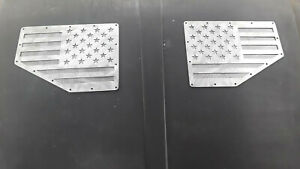 Tmw Universal Flag Hood Vents Rock Crawler Xj Cj Zj Wj Offroad Rally Car