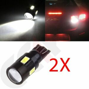 2x Cree Projector White 921 158 161 T10 Led Parking Light Bulb 6000k High Power