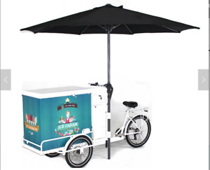 2019 3 X 7 New Mobile Electric Battery Powered Classic Ice Cream Bikes For Sal