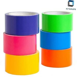 Colored Carton Sealing Packing Tape 2 X110 Yds 2 Mil Choose Your Pack Color