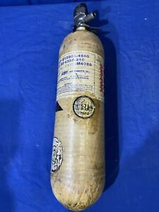 Scott 4500psi 30min Carbon Scba Air Pak Bottle Cylinder Breathing Tank 1996