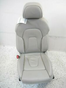 08 17 Audi A5 S5 Coupe Left Driver Front Sport Seat Assembly W Memory Oem