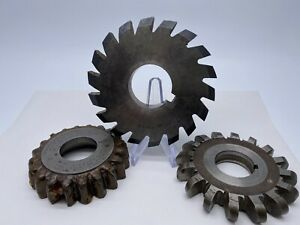 Lot Of 3 Gear Shaper Cutters Fellows Etc