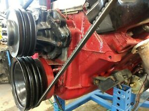 1972 Pontiac 400 Engine Pre owned Long Block Plus