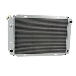 Aluminum Radiator Shroud Fan Fit 1979 1993 Ford Mustang 5 0l V8 Cc138