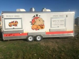 Well equipped 2017 8 5 X 24 Kitchen Food Concession Trailer With Restroom F