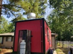 Ready For Service 2019 24 Mobile Food Unit Used Food Concession Trailer For