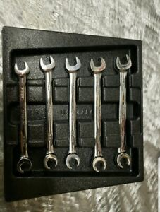 Snap On Metric Flare open End Wrench Set 10mm _14mm