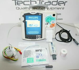 Philips Heartstart Mrx Aed Defibrillator Monitor M3535a With Pacer Option