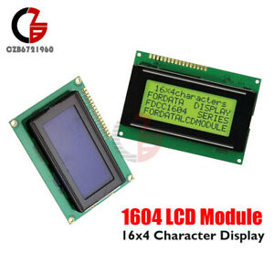 1604 Lcd 16x4 Character Yellow blue Backlight Lcd Display Module 5v For Arduino