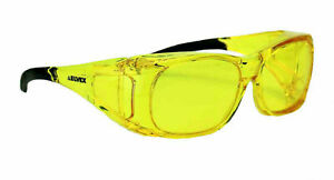 Elvex Delta Plus Ovr Spec Ii Safety shooting Glasses Over The Spectacle Amber