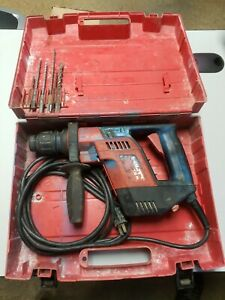 Hilti Te 5 Rotary Hammer Drill Originsl Case With Drills tested And Working