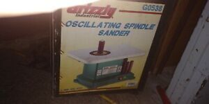 New Grizzly G0538 1 3 Hp Oscillating Spindle Sander