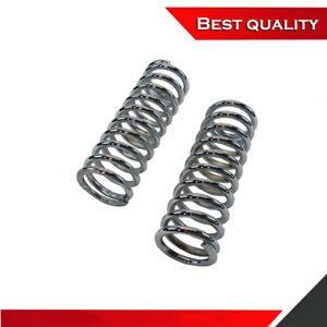 Chrome 10 Tall Coil Over Shock Springs Pair Id 2 5 Rate 150lb