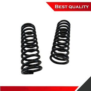 Black 10 Tall Coil Over Shock Springs Id 2 5 Rate 200lb Pair