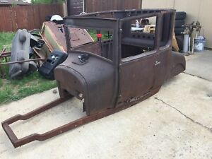 1926 1927 Ford Model T Coupe Body And Frame A t 32 34 37 Rat Rod Hot Rod 1927