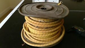 Vintage Auto Lite Automotive And Aircraft Wiring Us Government 4 Gauge 6 Pounds