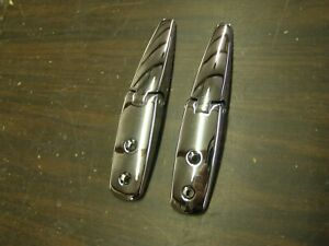 New Repro Ford 1969 1970 Mustang Rear Window Louver Latches Mach 1 Boss 302 429