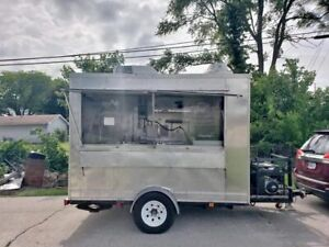 7 X 10 Street Ready Food Concession Trailer equipped Mobile Food Unit In For S