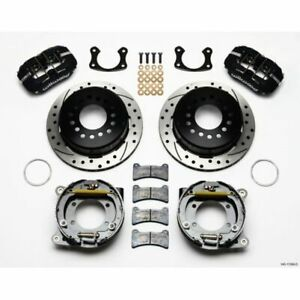 Wilwood 140 11389 D Dynapro Rear Disc Brake Kit 11 Inch Rotor For Big Ford