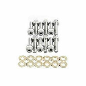 Wilwood 230 4572 Rotor Bolt Kit 12 Point Head Stainless 1 4 20 Inch Thread