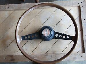 Fiat Vintage Steering Wooden Wheel