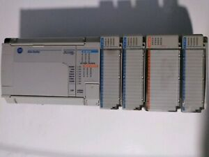 Allen bradley Micrologix 1500 1764 24bwa Ser B Used With Extras