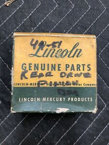 Lincoln Drive Pinion Cup Nos New 1949 1950 1951