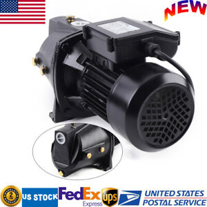 110v Heavy Duty Water Jet Pump 1hp Shallow Well Jet Pump 750w W Pressure Switch