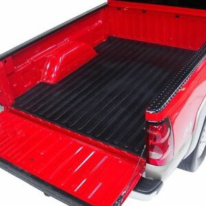 Rubber Bed Mat 2017 2019 F 250 F 350 F 450 8 Long Box Black Liner Protector