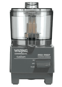 Waring Wcg75 Pro Prep Commercial Chopper Grinder With 0 75 Qt Bowl 3 4 Hp
