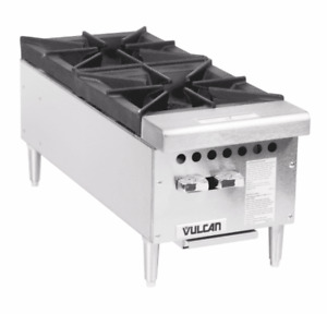 Vulcan Vcrh12 1 Natural Gas 12 2 Burner Countertop Range Hot Plate 50 000 B