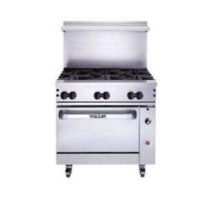 Vulcan 36s 6b 36 6 Burner Gas Range Natural Gas