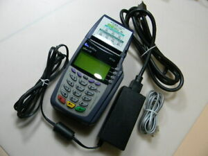 Verifone Omni 5100 3730 Vx510 Card Reader With Power Adapter