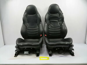 98 02 Bmw Z3 M Roadster E36 1104 Black Power Leather Heated Sport Seats