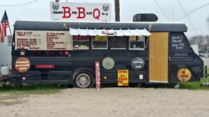8 X 22 Food Concession Trailer Bus Conversion Used Bustaurant For Sale In Texa