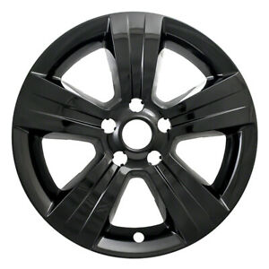 One Wheel Skin Cover Fits 2011 2016 Jeep Compass patriot 17 Gloss Black 5 Spoke